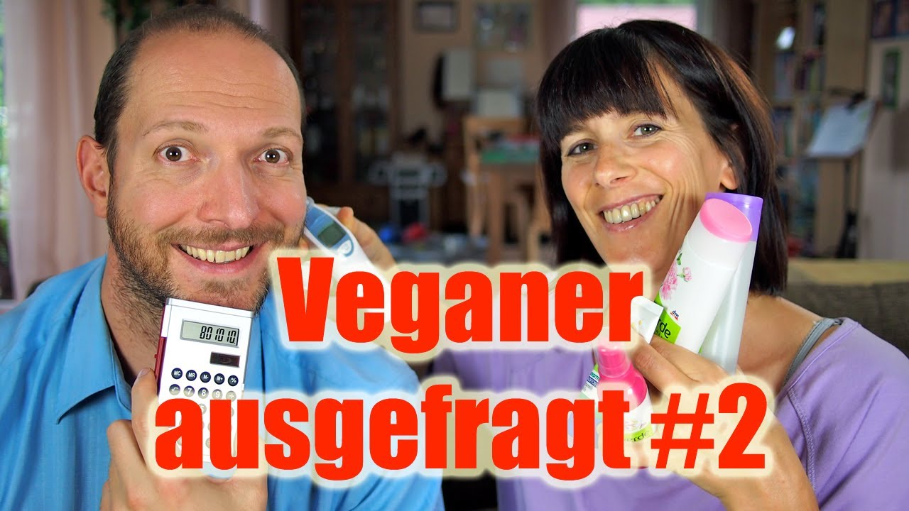 Veganer ausgefragt #2 - Medikamente, Ethik, Cheat-Day, Kosmetik [VEGAN]