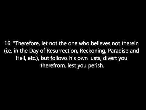 Surah Taha, Verses