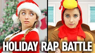 CHRiSTMAS vs THANKSGiViNG: Holiday Rap Battle (Brooklyn, Bailey, Rylan, and Friends)