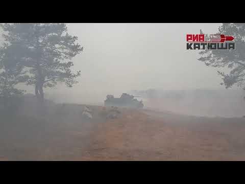 День ракетных войск и артиллерии на полигоне «Луга» в Ленинградской области