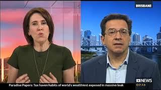 ABC TV News Breakfast QUT's Professor Pascalis Raimondos