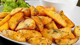 Crunchy potato wedges recipe