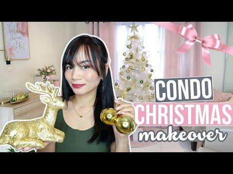 HOW I DECORATE MY CONDO FOR CHRISTMAS! | Home Decor Tips + Budget!