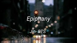 Bts jin epiphany lyrics - Free Music Download