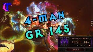 Diablo III Season 18 - 4man Greater Rift 145