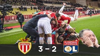 AS Monaco vs OL (3-2) - MONACO renverse Lyon !