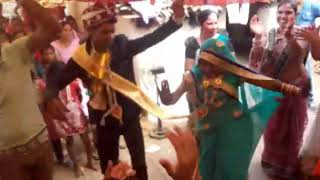 Sadi me khud dhula dulan ne kiya dance//comedy video