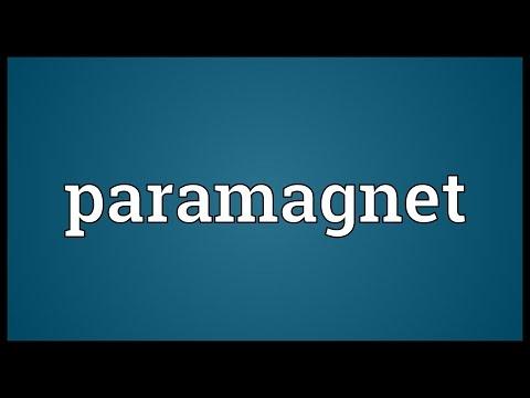 Header of paramagnet