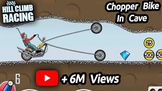 Hill Climb Racing - New Chopper Bike In Cave
