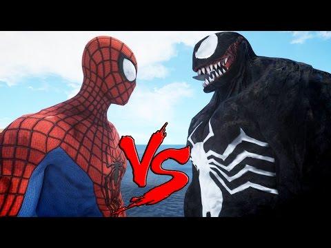 SPIDERMAN VS VENOM - EPIC BATTLE