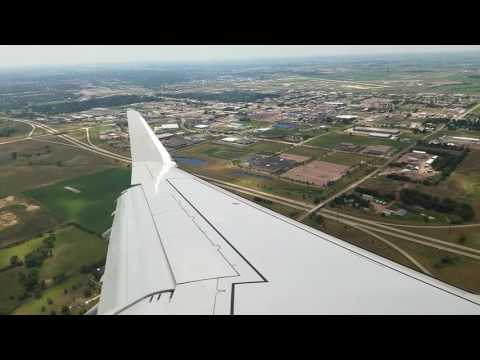 Landing at Sioux Falls, SD 07/31/16