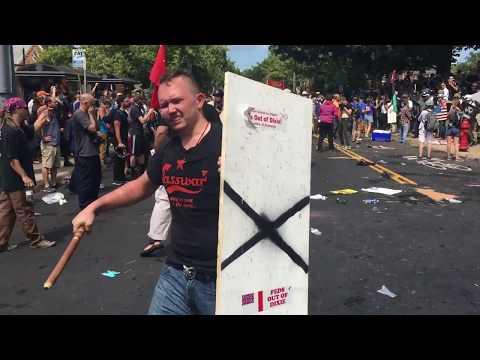 White supremacist violent protests - Charlottesville Virginia