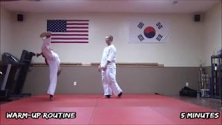 Black Belt Workout #8: Kick Drills for Legs control &  Balance