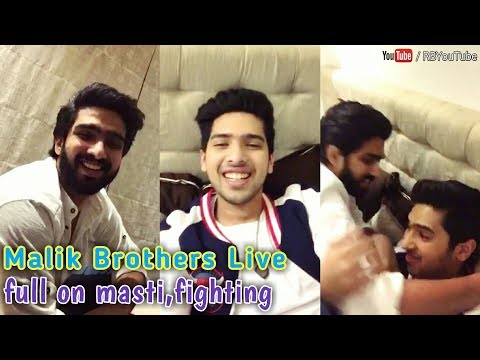 ARMAAN MALIK and AMAAL MALIK Live | full on masti time, fun,fighting, Brother love | cute and lovely