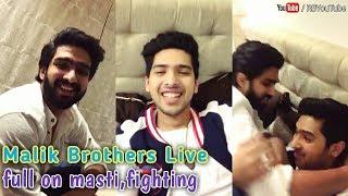 ARMAAN MALIK and AMAAL MALIK Live | full on masti time, fun,fighting, Brother love | cute and lovely