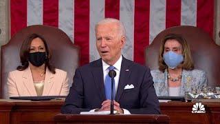President Joe Biden speaks on his American Jobs Plan