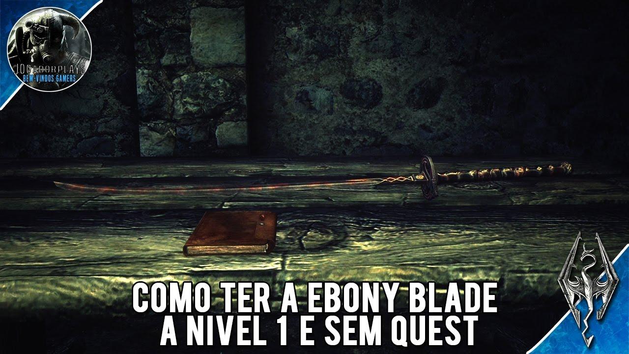 Ebony blade quest