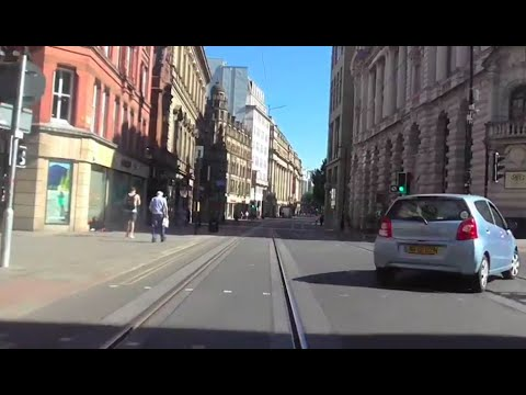 MANCHESTER: driving around the city centre