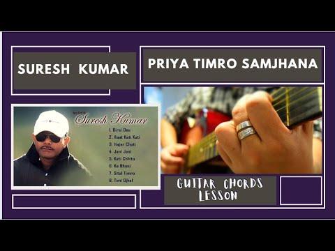 Priye Timro Samjhana (Guitar Chords Lesson) #NRK!!! - YouTube