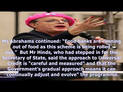 Work and pensions secretary 'snubs' emergency debate on universal credit