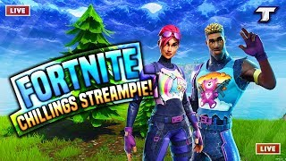 CUSTOMS WITH VIEWERS & ROAD TO 7K SUBS | Use Code Tiztou | Fortnite Battle Royale (Dutch/English)