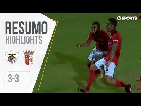 Highlights | Resumo: Santa Clara 3-3 Sp. Braga (Liga 18/19 #2)