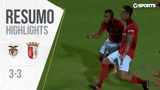 Highlights | Resumo: Santa Clara 3-3 Sp. Braga (Liga 18/19 #2)
