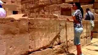 Египет. Луксор. Поминальный храм фараона Рамсеса -3.(Это видео создано с помощью видеоредактора YouTube (http://www.youtube.com/editor), 2014-07-28T14:35:28.000Z)