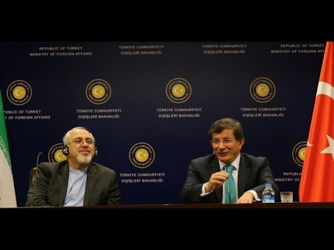 Joint Press Conference by Mr. Ahmet Davutoğlu and His Iranian Counterpart Mr. Javad Zarif