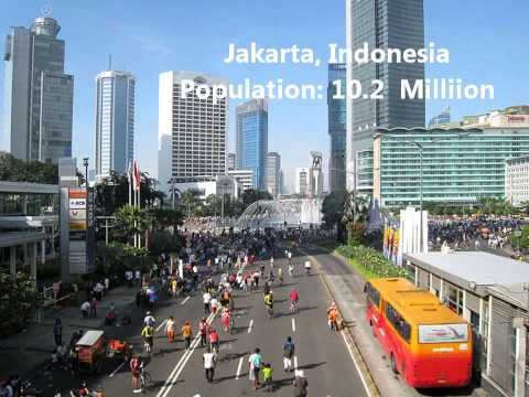 The 25 Most Populated Cities in the World