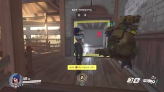 Tracer and Winston like the butt of Widowmaker