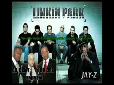 linkin park Numb Encore ft Eminem, Dr. Dre, 50 Cent,Jay-Z