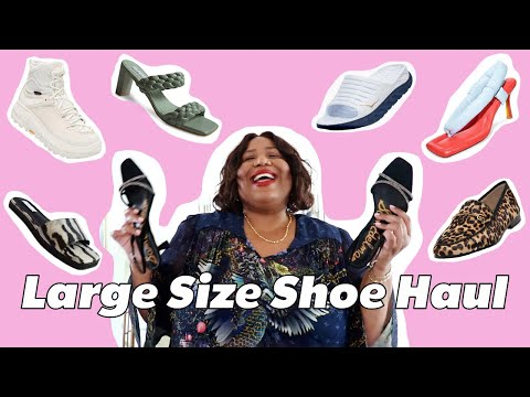 FALL 2020 LARGE SIZE SHOE HAUL | AND I GET DRESSED