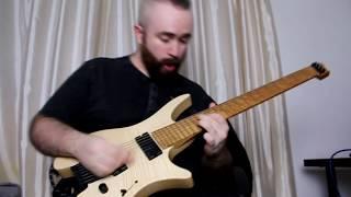 SHATTERED SKIES - Arisen - Guitar Playthrough by Ian Rockett