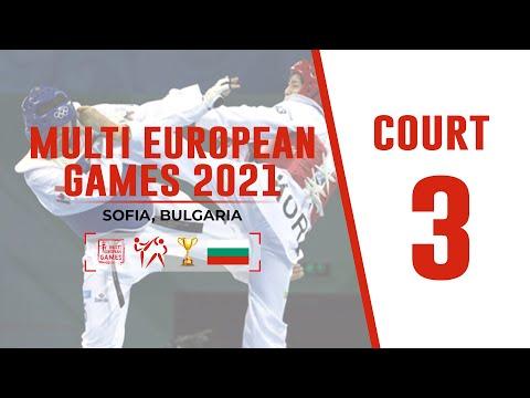 3rd WTE Multi European Games - 2021 - COURT 3