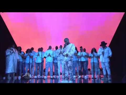 Kanye West Forgets The Words to Ultra Light Beam SNL.