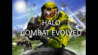 I PLAYED THIS WHEN I WAS 5!! - Halo Combat Evolved Gamplay