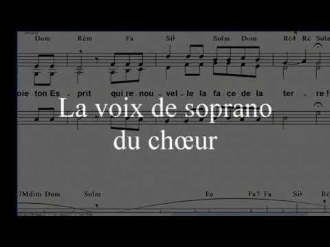 """Psaume 103 Pour La Pentecôte """"Ô Seigneur Envoie Ton Esprit"""""""