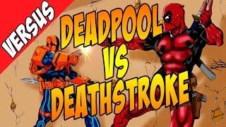 Deadpool vs Deathstroke. Кто круче? [by Кисимяка]
