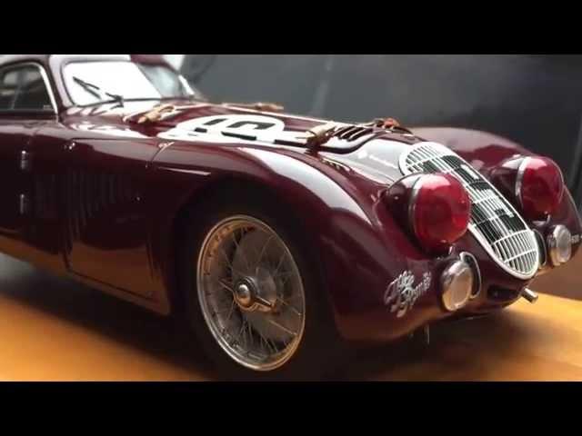 CMC Alfa Romeo 8c 2900b Speciale Le Mans, 1938