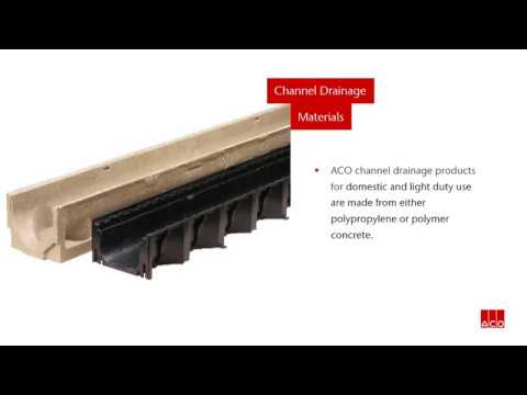 Introduction To Channel Drainage Aco Youtube