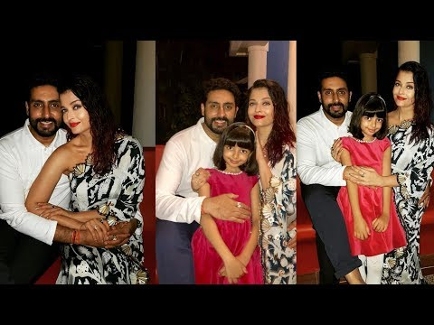 Aishwarya Rai Bachchan birthday celebrations with Abhishek Bachchan and daughter Aaradhya in Goa