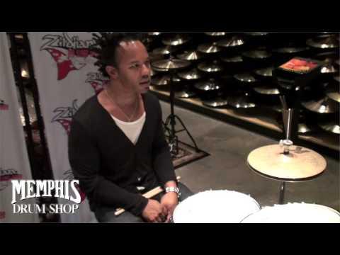 JJ Johnson Interview at Memphis Drum Shop - Zildjian On Tour 2009