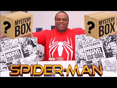 Spider-Man & Marvel MYSTERY BOXES!