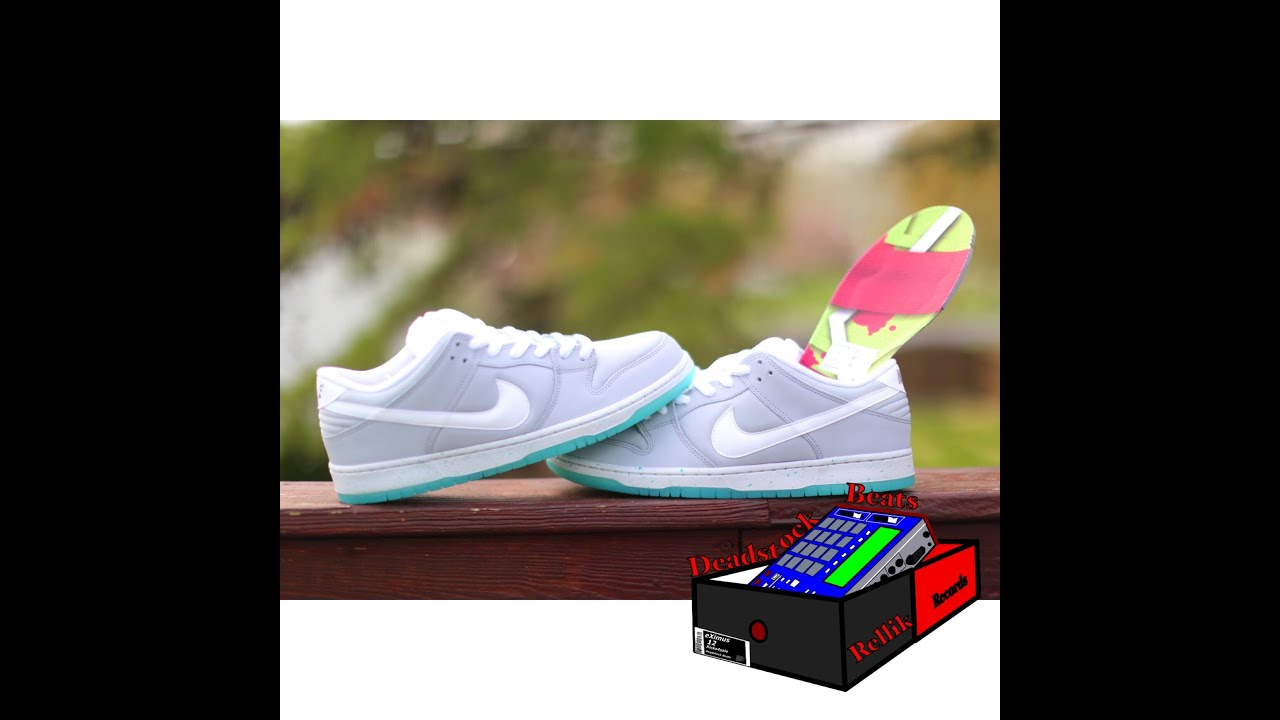 """hot sale online a0ca5 116fc Unboxing Nike SB Dunk Low """"Back To The Future"""" Marty McFly"""