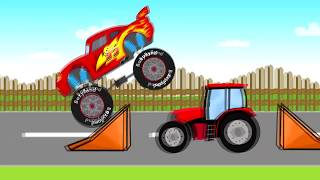Fairy Tractors | Kids Tractor | Bajki Traktory - Bazylland