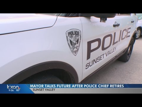 As Sunset Valley searches for a new police chief, mayor talks growth