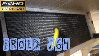 Froid264-La chambre froide fruits et légumes  l'entretien de l'évaporateur souvent le plus sale