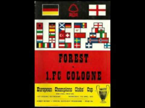 RADIO BROADCAST - Nottingham Forest v FC Cologne  1979 Europ