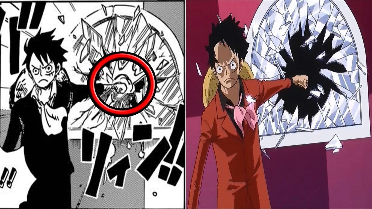Pictures of one piece anime vs manga difference